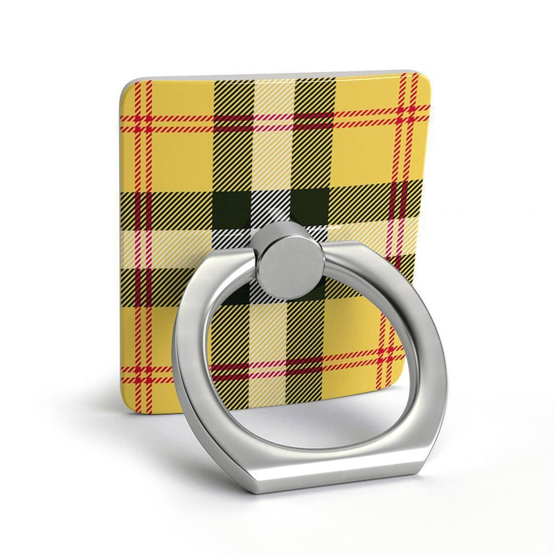 As if! Yellow Plaid Phone Ring Phone Ring get.casely