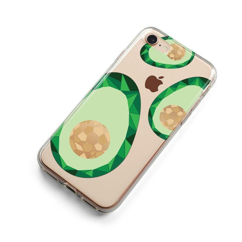 Avocado Rose Gold Clear Case iPhone Case Get.Casely