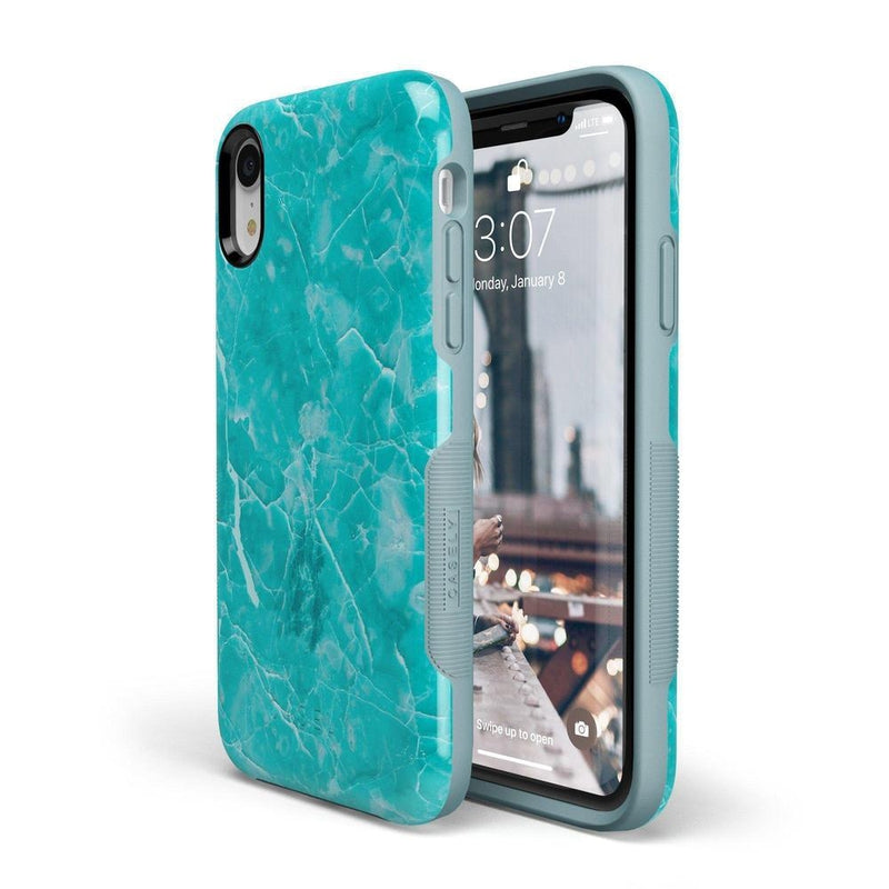 Beautiful Teal Blue Seaglass Case iPhone Case Get.Casely