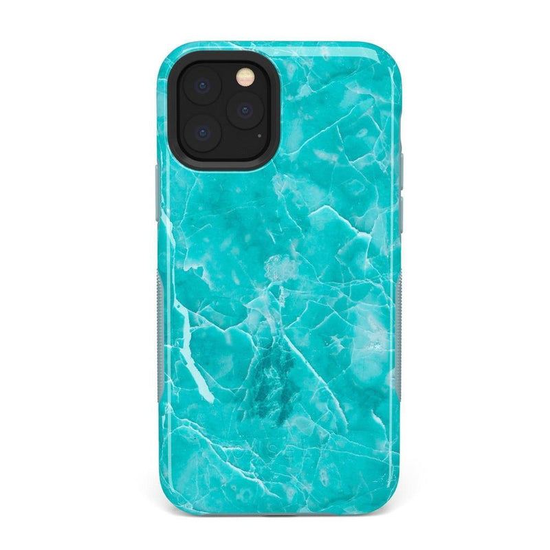 Beautiful Teal Blue Seaglass Case iPhone Case Get.Casely Bold iPhone 11 Pro