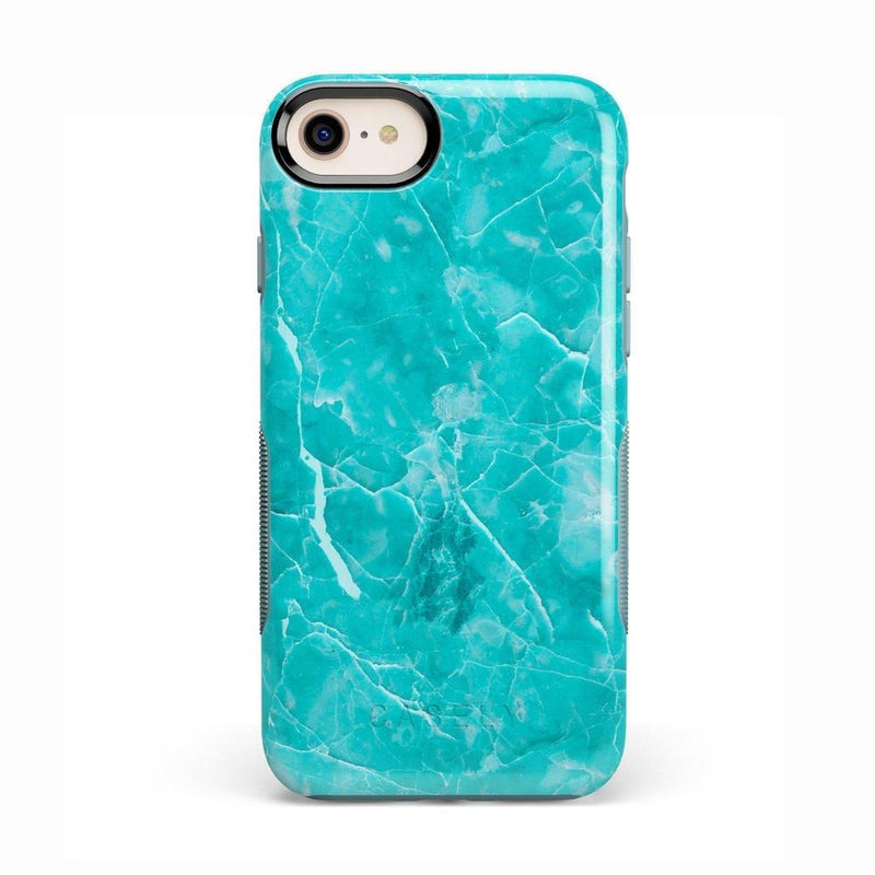 Beautiful Teal Blue Seaglass Case iPhone Case Get.Casely Bold iPhone 8