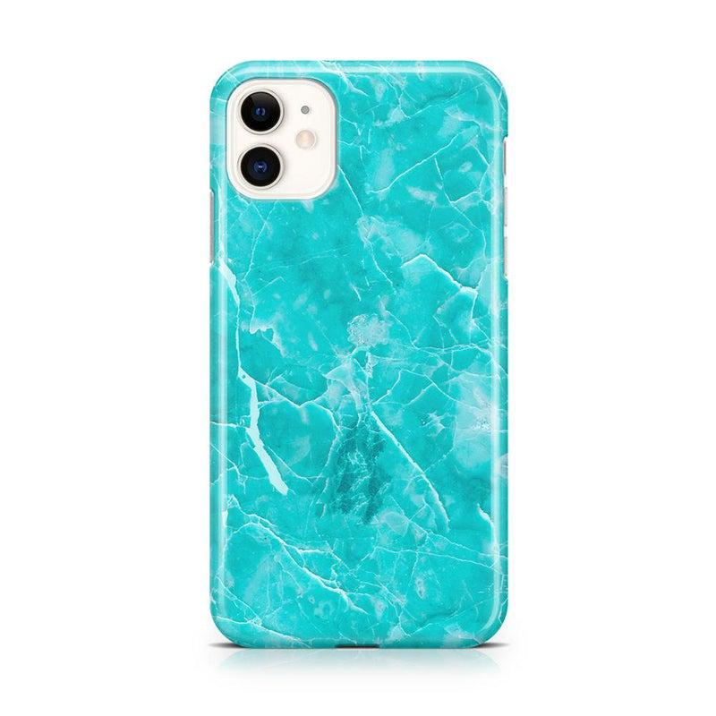Beautiful Teal Blue Seaglass Case iPhone Case Get.Casely Classic iPhone 11