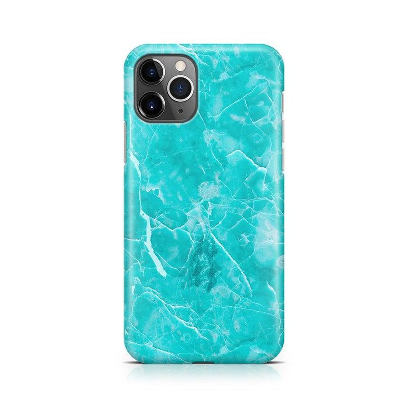 Beautiful Teal Blue Seaglass Case iPhone Case Get.Casely Classic iPhone 11 Pro