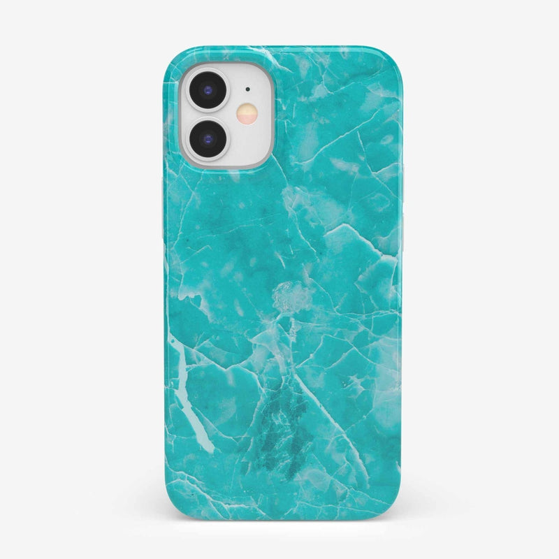 Beautiful Teal Blue Seaglass Case iPhone Case get.casely Classic iPhone 12 Mini