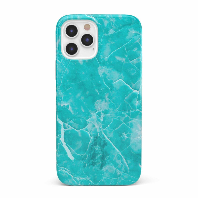 Beautiful Teal Blue Seaglass Case iPhone Case get.casely Classic iPhone 12 Pro