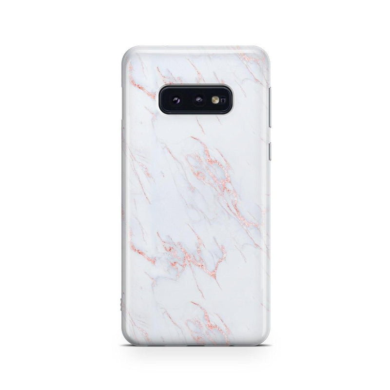 Beautiful White and Pink Marble Case iPhone Case Get.Casely Classic Galaxy S10E