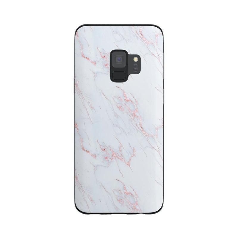 Beautiful White and Pink Marble Case iPhone Case Get.Casely Classic Galaxy S9