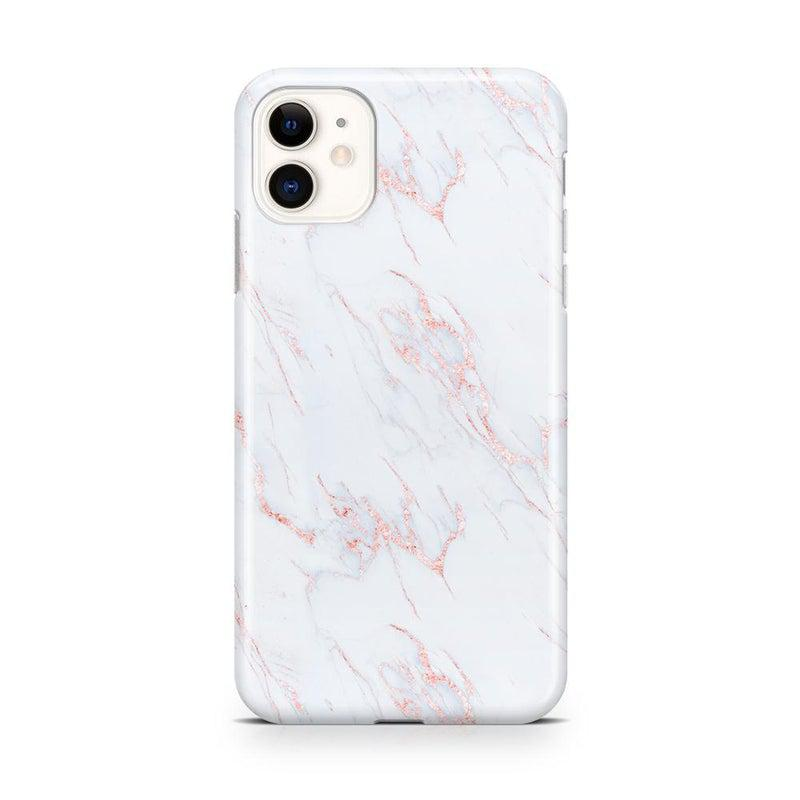 Beautiful White and Pink Marble Case iPhone Case Get.Casely Classic iPhone 11