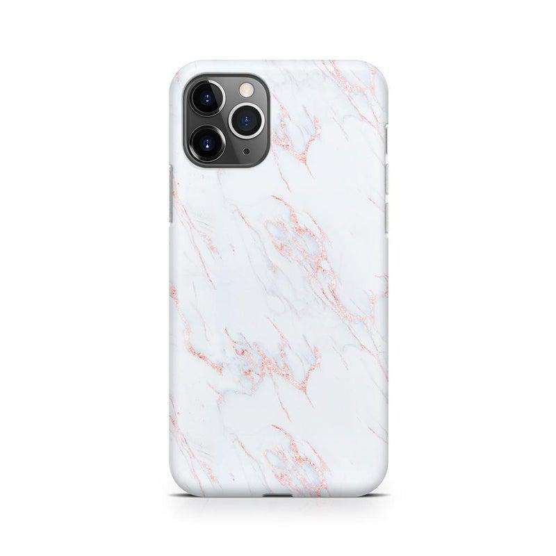 Beautiful White and Pink Marble Case iPhone Case Get.Casely Classic iPhone 11 Pro
