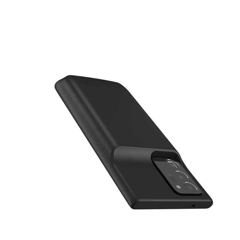Black Battery-Powered Charging Case for Samsung Samsung Case get.casely
