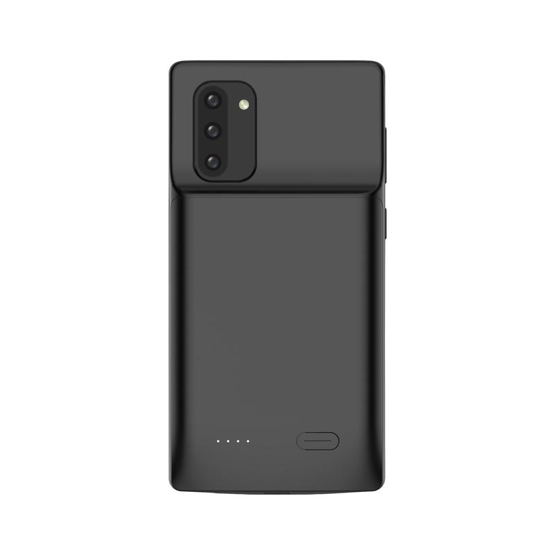 Black Battery-Powered Charging Case for Samsung Samsung Case get.casely Power 2.0 Galaxy Note 10