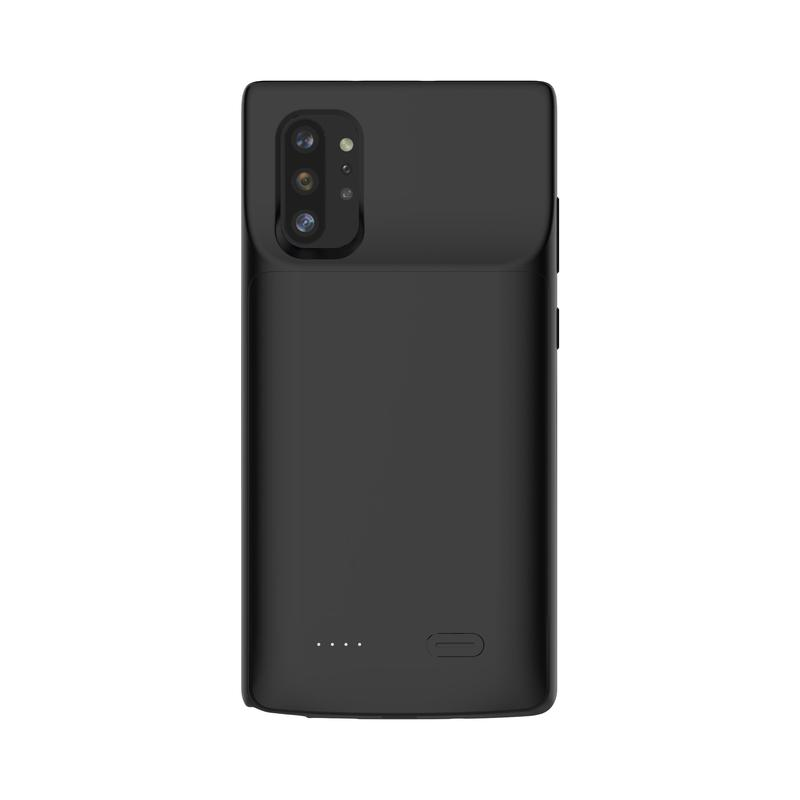 Black Battery-Powered Charging Case for Samsung Samsung Case get.casely Power 2.0 Galaxy Note 10 Plus