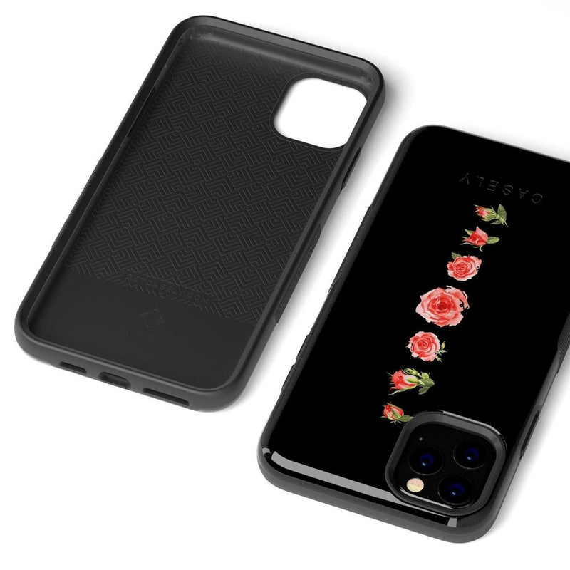 Blooming Red Rose Case iPhone Case Get.Casely