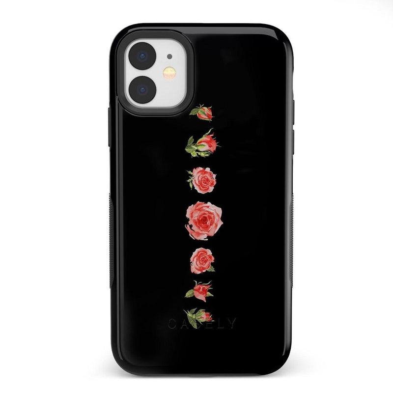 Blooming Red Rose Case iPhone Case Get.Casely Bold iPhone 11