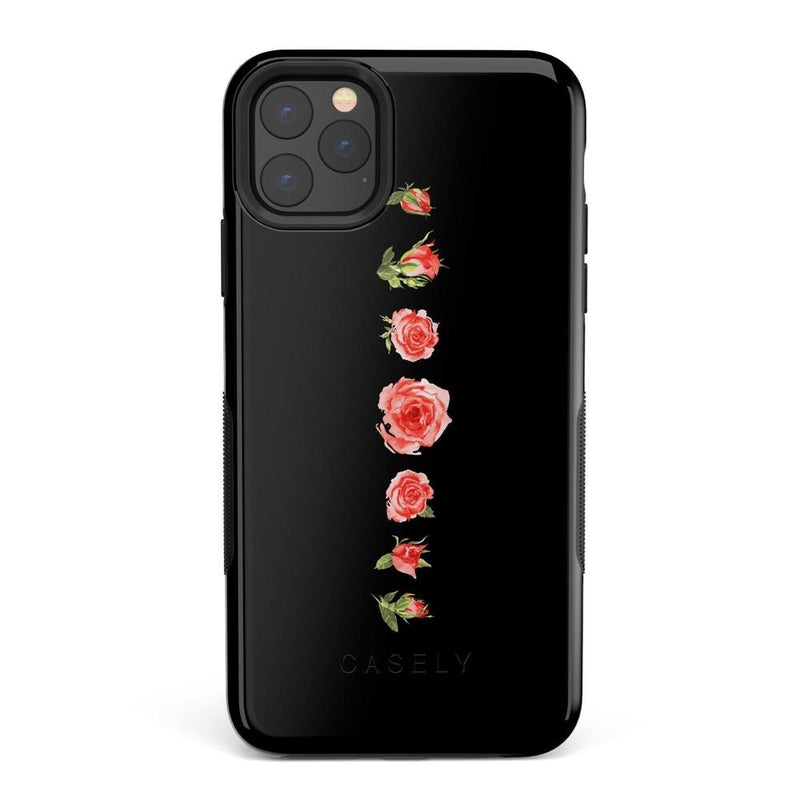 Blooming Red Rose Case iPhone Case Get.Casely Bold iPhone 11 Pro Max