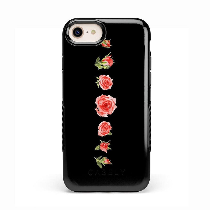 Blooming Red Rose Case iPhone Case CASELY Bold iPhone 8