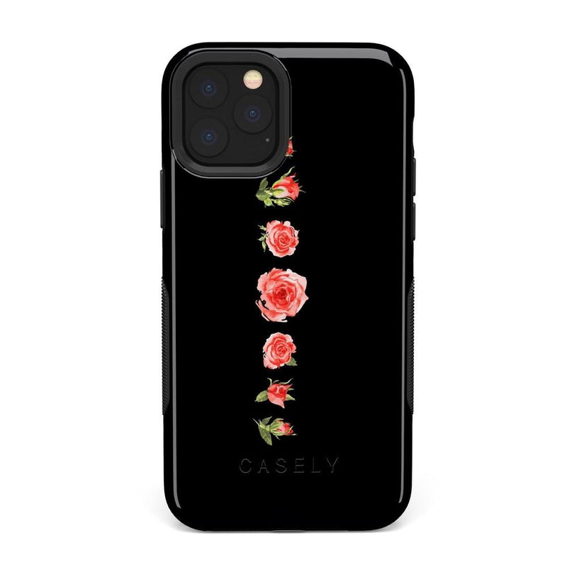 Blooming Red Rose Case iPhone Case Get.Casely Bold iPhone XI