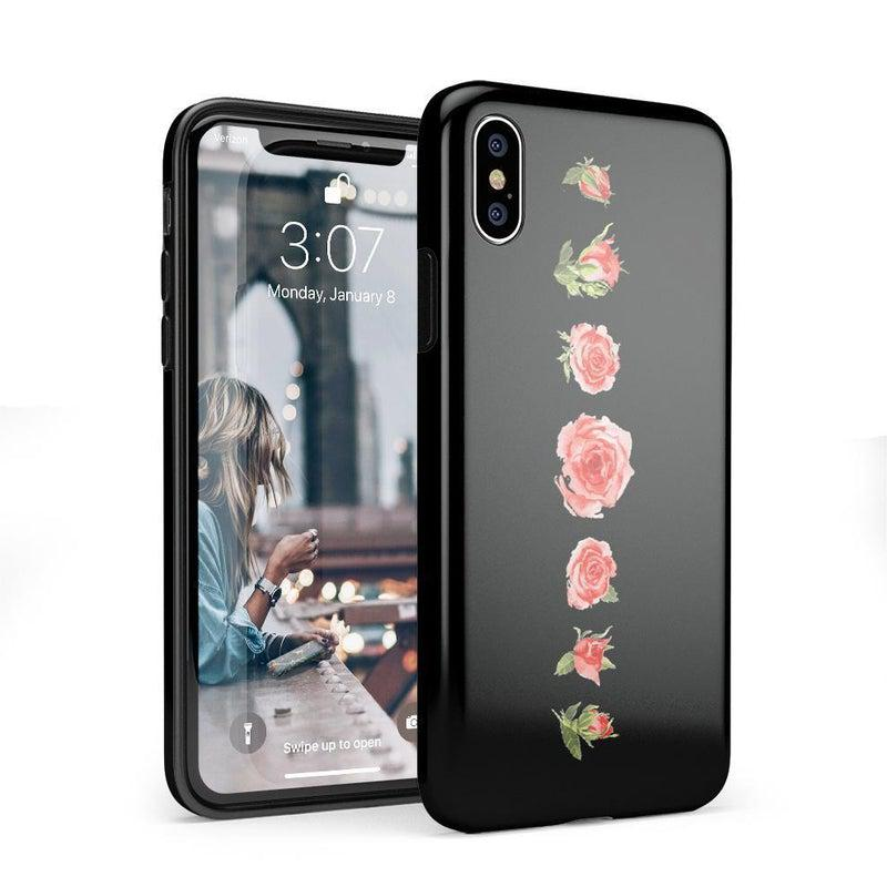 Blooming Red Rose Case iPhone Case CASELY Classic iPhone X / XS