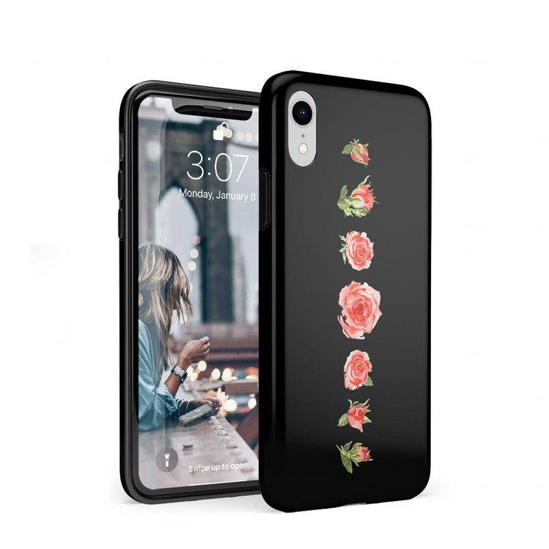 Blooming Red Rose Case iPhone Case CASELY Classic iPhone XR