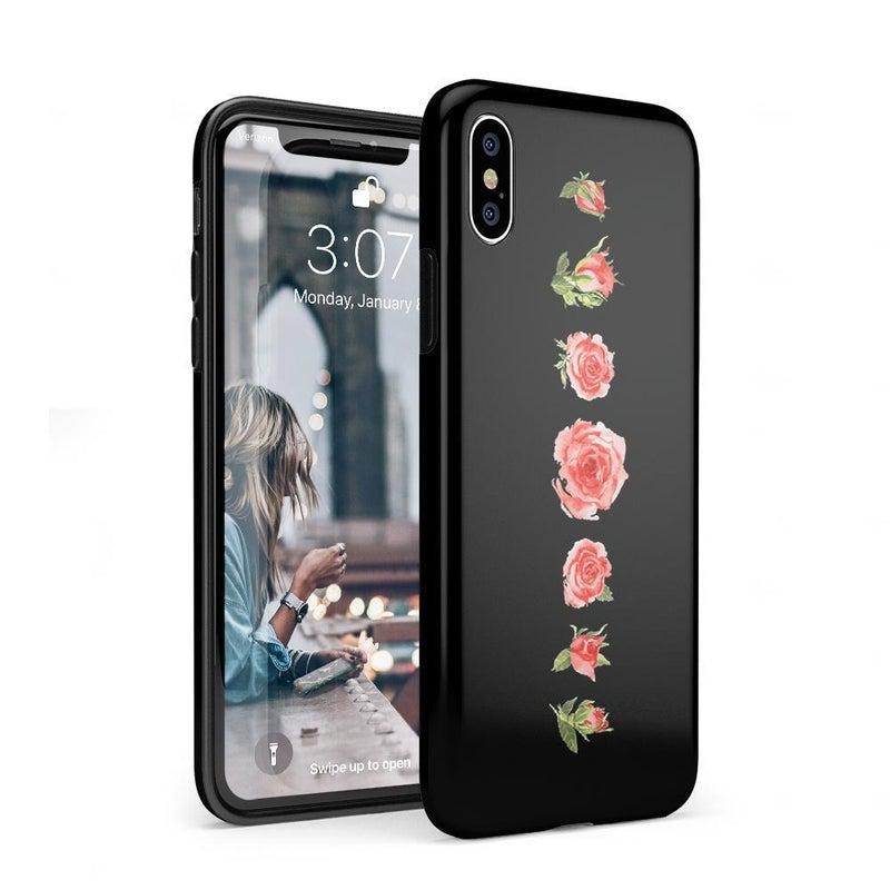 Blooming Red Rose Case iPhone Case CASELY Classic iPhone XS Max
