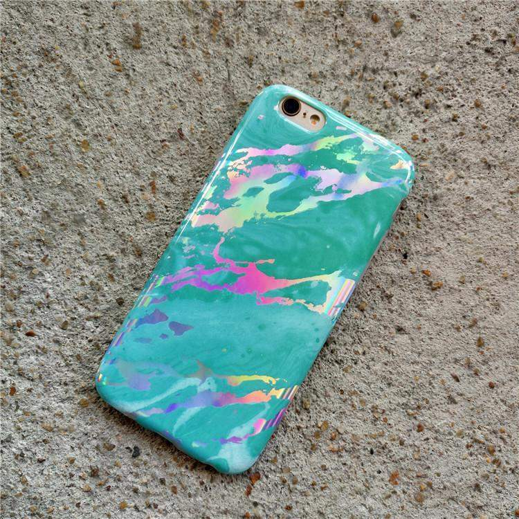 Blue Marble Holo Case iPhone Case Get.Casely