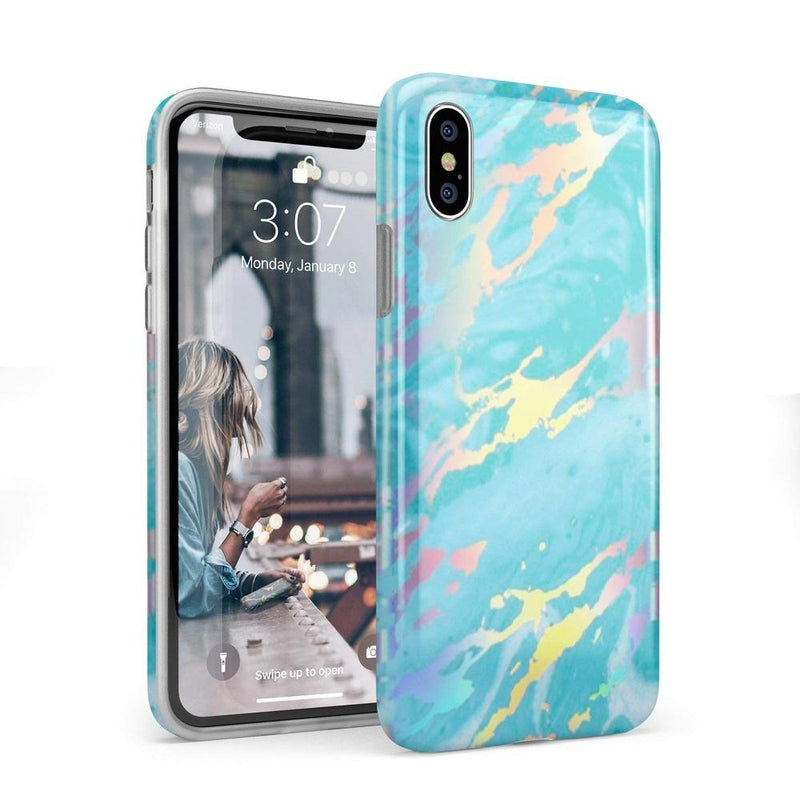 Blue Marble Holo Case iPhone Case Get.Casely Classic iPhone X / XS