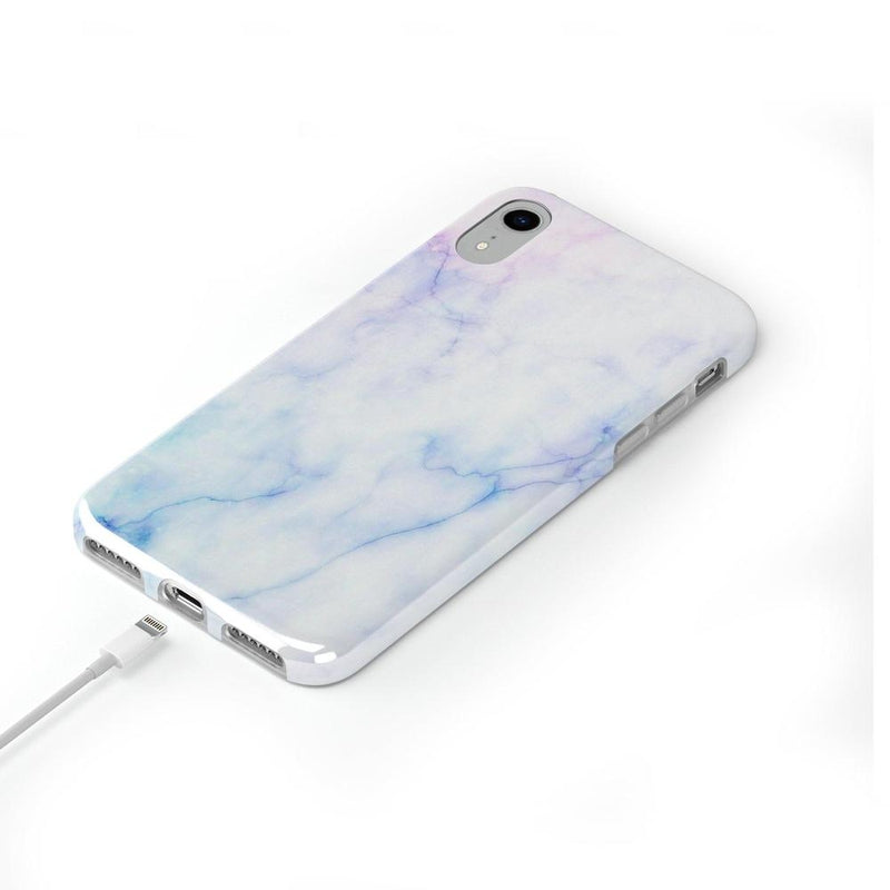Blue & Purple Cotton Candy Marble Case iPhone Case Get.Casely