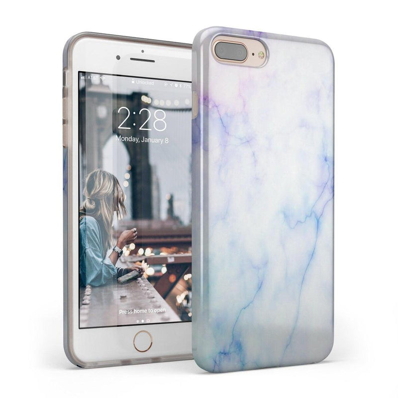 Blue & Purple Cotton Candy Marble Case iPhone Case Get.Casely Classic iPhone 6/6s Plus
