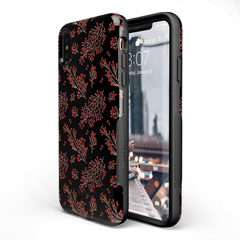 Branching Out | Festive Floral Case iPhone Case Get.Casely