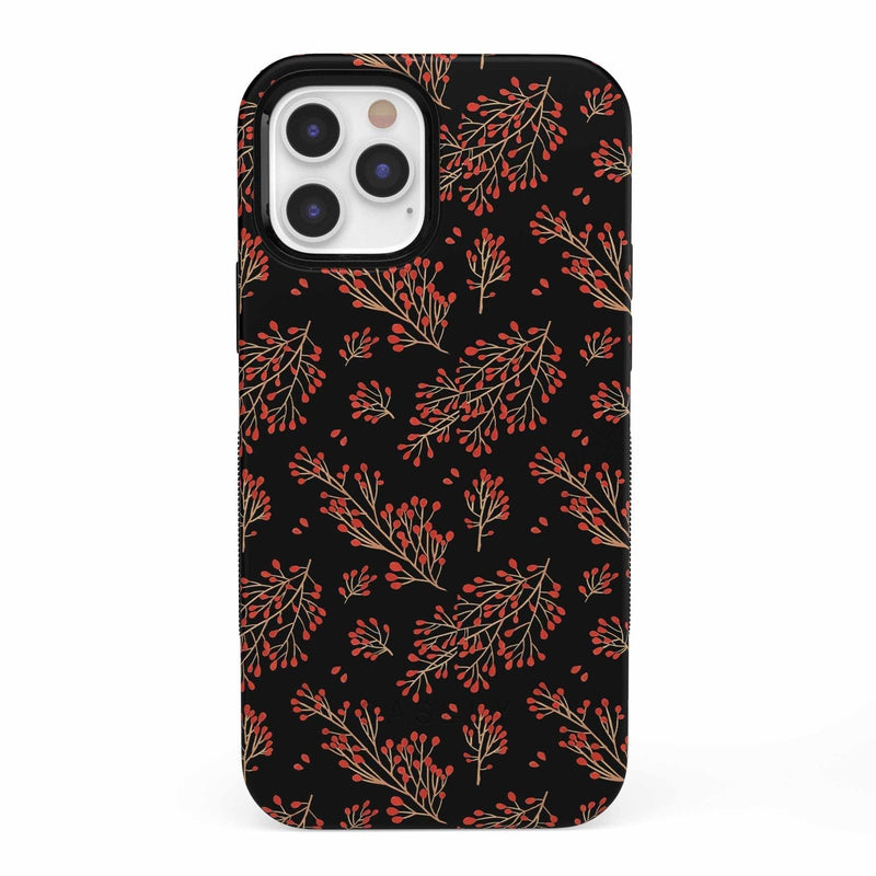 Branching Out | Festive Floral Case iPhone Case get.casely Bold iPhone 12 Pro