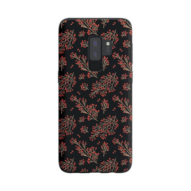 Branching Out | Festive Floral Case iPhone Case Get.Casely Classic Galaxy S9 Plus