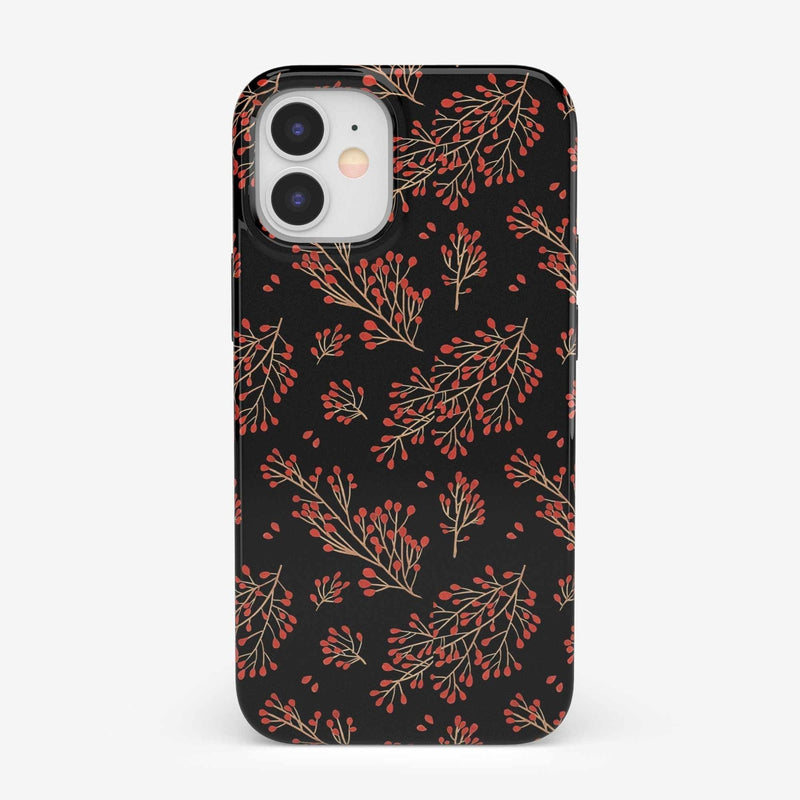 Branching Out | Festive Floral Case iPhone Case get.casely Classic iPhone 12 Mini