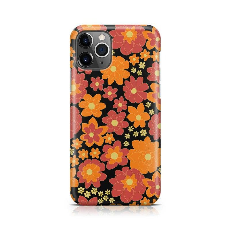 Bright Retro Floral Case iPhone Case Get.Casely Classic iPhone 11 Pro