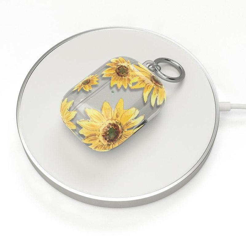 Bright Yellow Sunflowers AirPods Case AirPods Case CASELY
