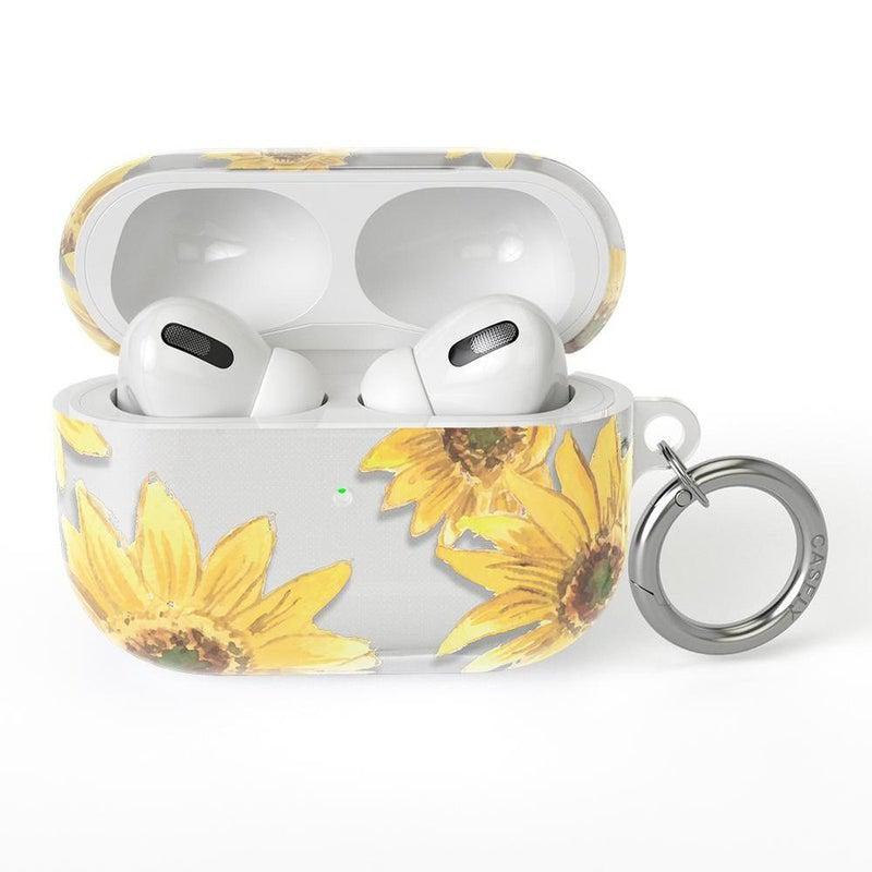 Bright Yellow Sunflowers AirPods Case AirPods Case CASELY AirPods Pro Case
