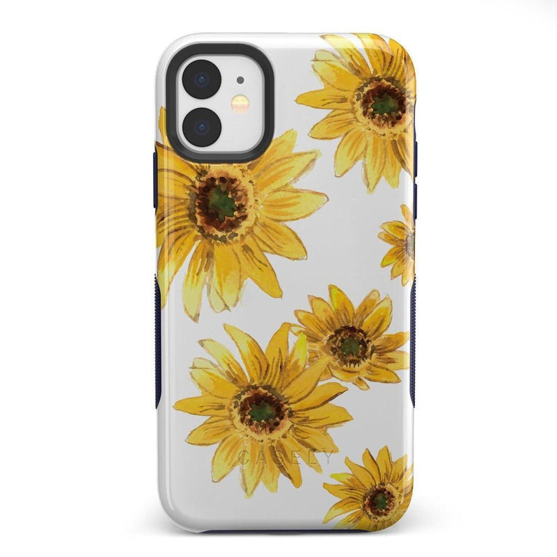 Bright Yellow Sunflowers Case iPhone Case Get.Casely Bold iPhone 11