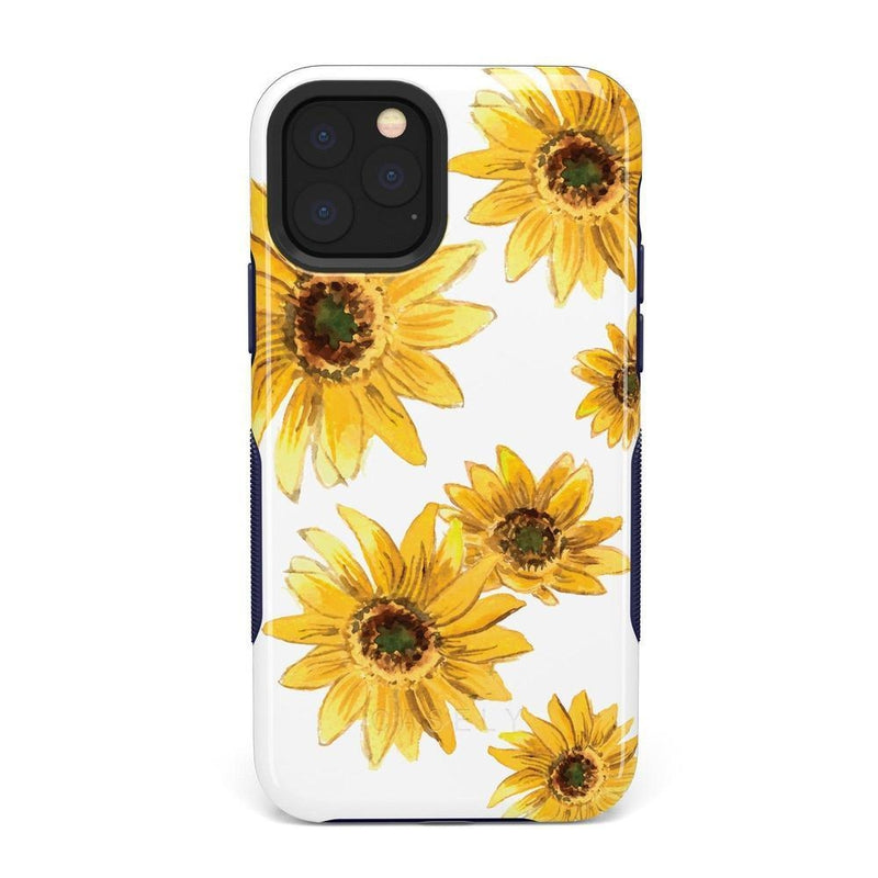 Bright Yellow Sunflowers Case iPhone Case Get.Casely Bold iPhone 11 Pro