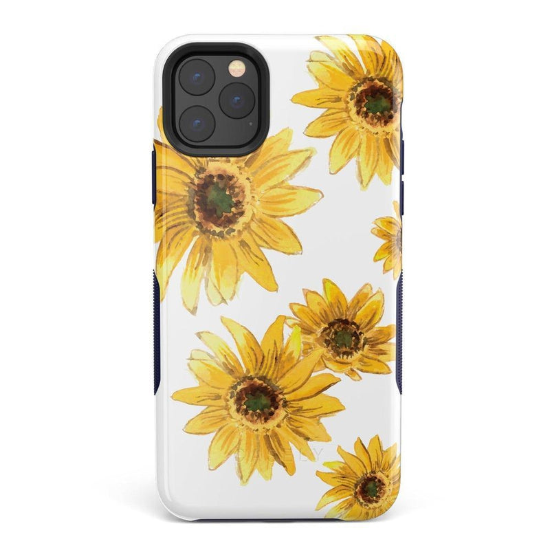 Bright Yellow Sunflowers Case iPhone Case Get.Casely Bold iPhone 11 Pro Max