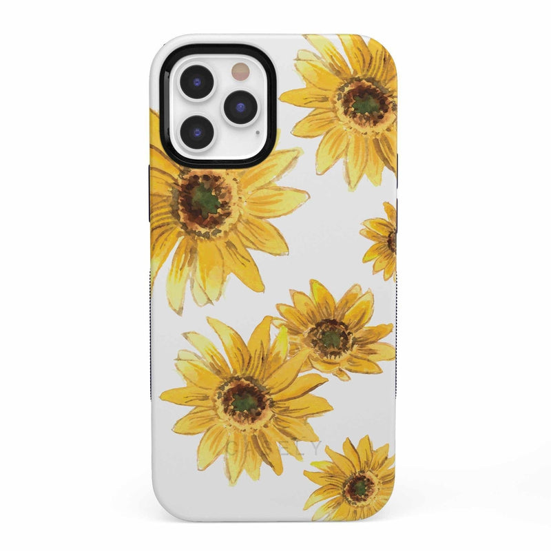Bright Yellow Sunflowers Case iPhone Case get.casely Bold iPhone 12 Pro