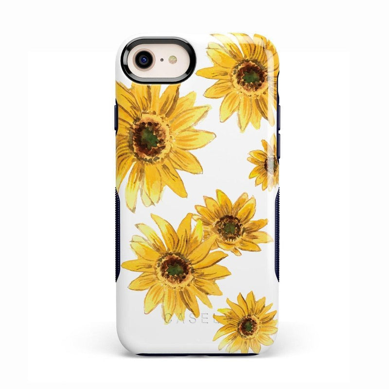 Bright Yellow Sunflowers Case iPhone Case Get.Casely Bold iPhone 8