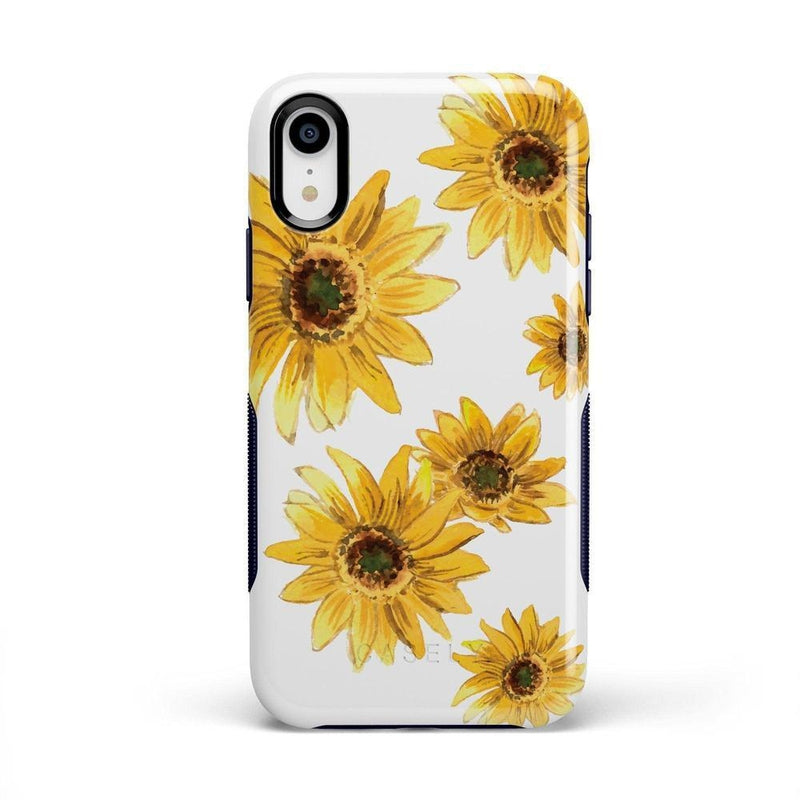 Bright Yellow Sunflowers Case iPhone Case Get.Casely Bold iPhone XR