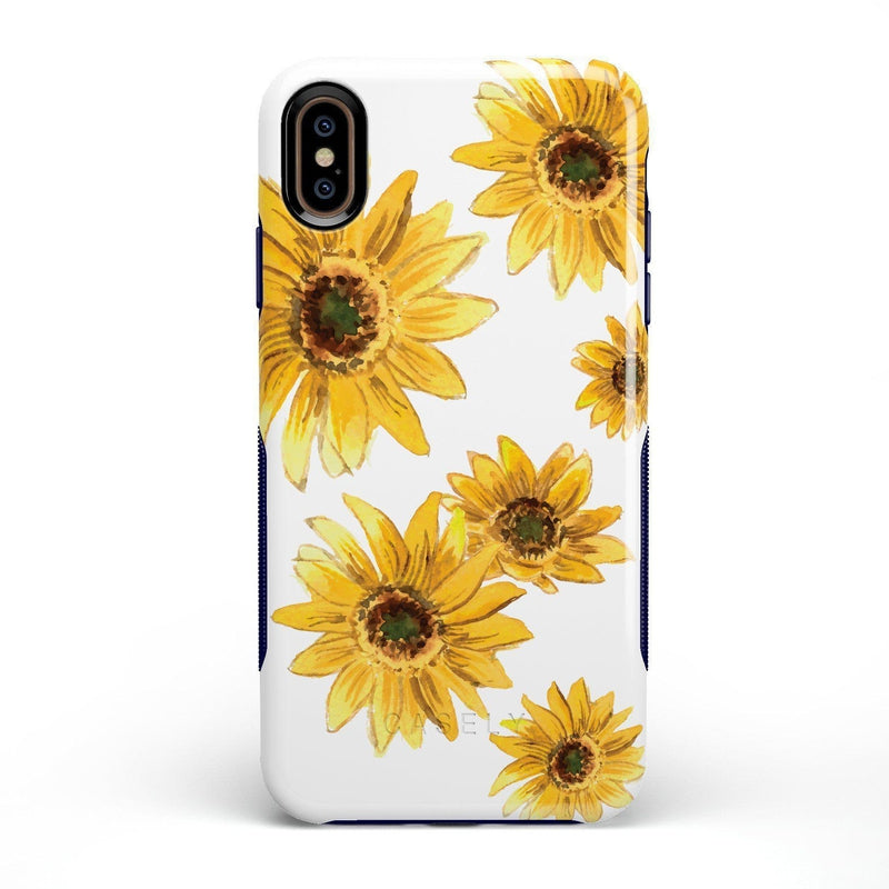 Bright Yellow Sunflowers Case iPhone Case Get.Casely Bold iPhone XS Max