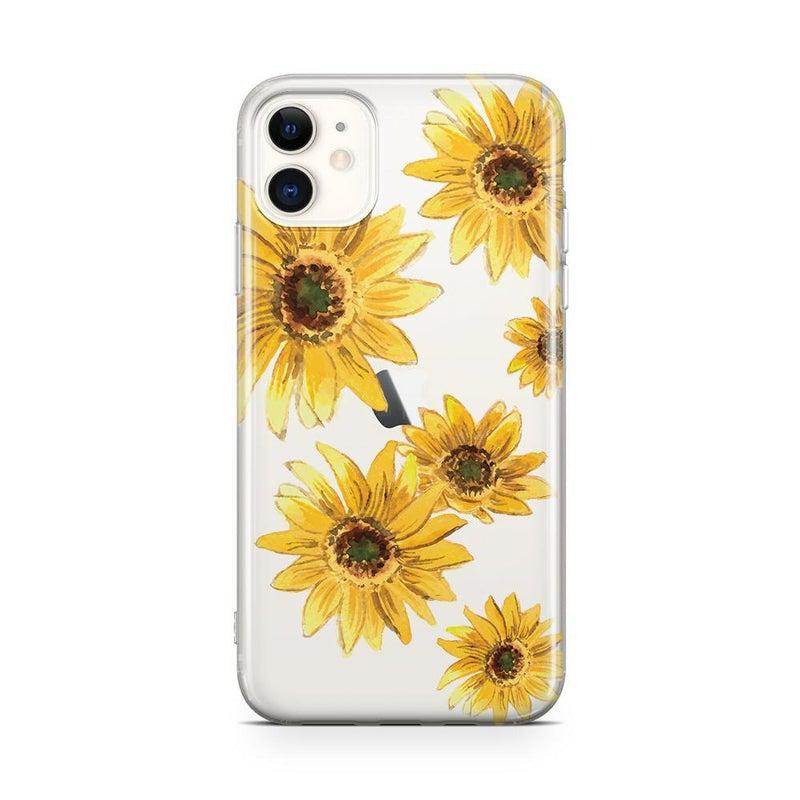 Bright Yellow Sunflowers Case iPhone Case Get.Casely Classic iPhone 11