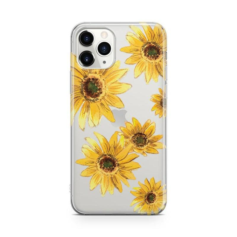 Bright Yellow Sunflowers Case iPhone Case Get.Casely Classic iPhone 11 Pro