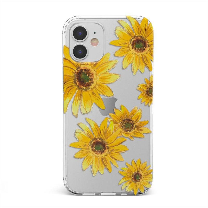 Bright Yellow Sunflowers Case iPhone Case get.casely Classic iPhone 12 Mini