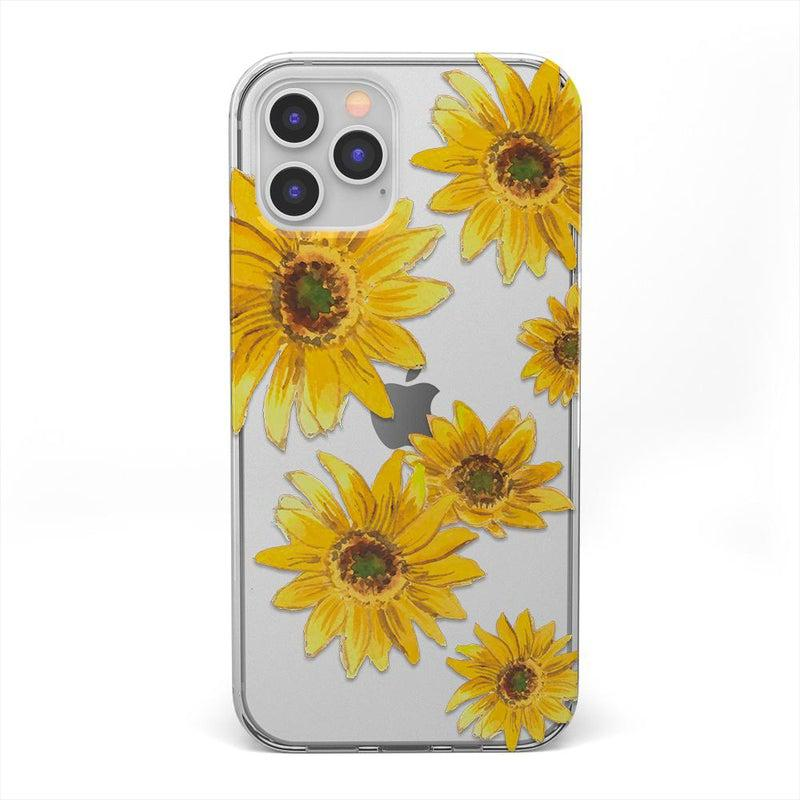 Bright Yellow Sunflowers Case iPhone Case get.casely Classic iPhone 12 Pro