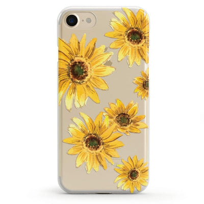 Bright Yellow Sunflowers Case iPhone Case Get.Casely Classic iPhone 6/6s