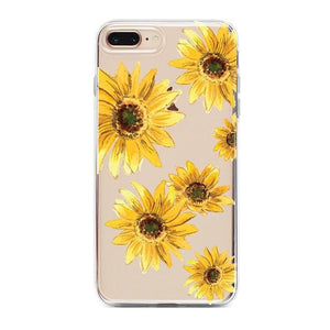 Bright Yellow Sunflowers Case iPhone Case Get.Casely Classic iPhone 6/6s Plus