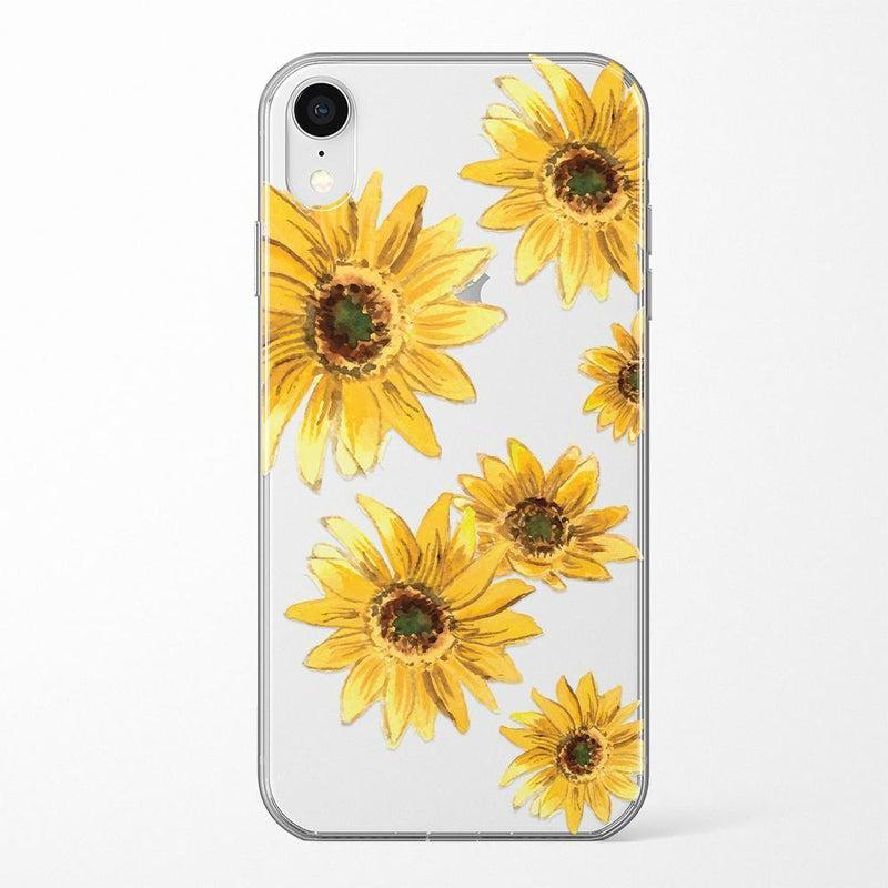 Bright Yellow Sunflowers Case iPhone Case Get.Casely Classic iPhone XR
