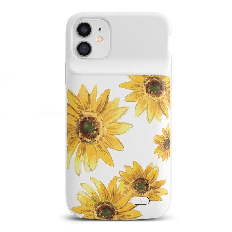 Bright Yellow Sunflowers Case iPhone Case get.casely Power 2.0 iPhone 11